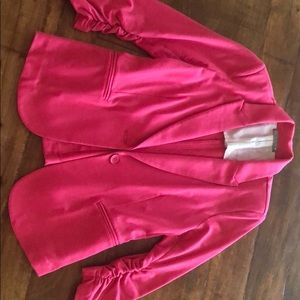 Nordstrom's Pink Knit Blazer